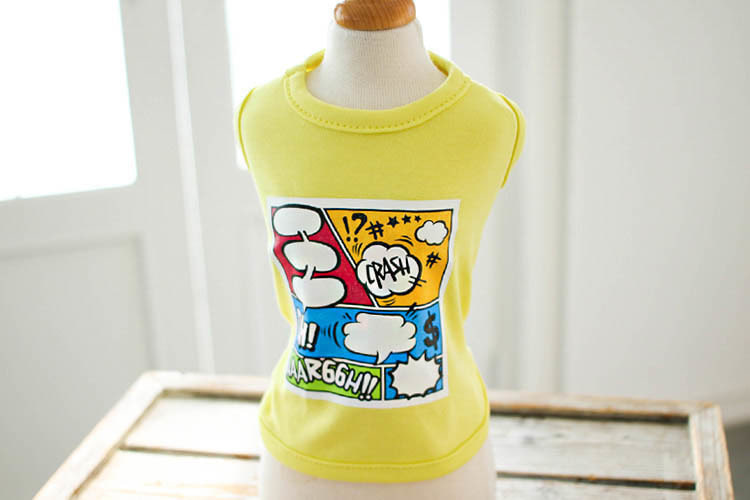 Cartoon Tank / Yellow