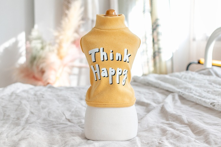 Think Happy Tank / Mustard