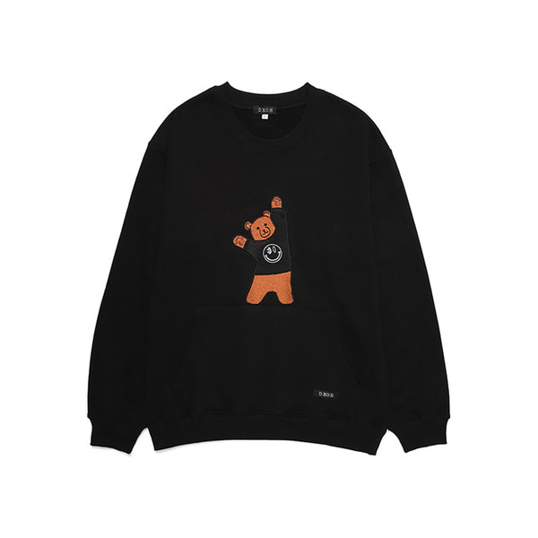 韓国ブランド「DXOH」のBEAR EMBROIDER MTM 6COLOR