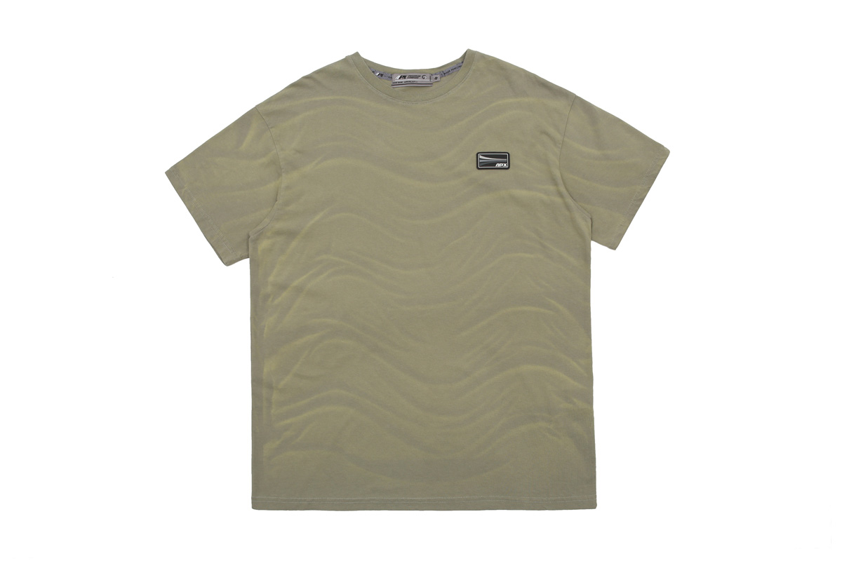 【APPARELXIT】UNISEX APX PATCH WASHING T-SHIRTS GREEN ユニセックスAPXパッチウォッシングTシャツ グリーン