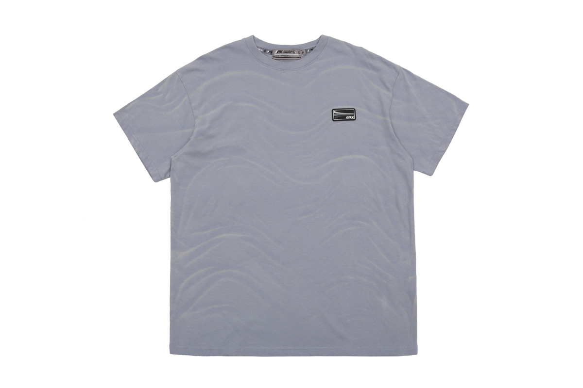 【APPARELXIT】UNISEX APX PATCH WASHING T-SHIRTS SKYBLUE ユニセックスAPXパッチウォッシングTシャツ スカイブルー