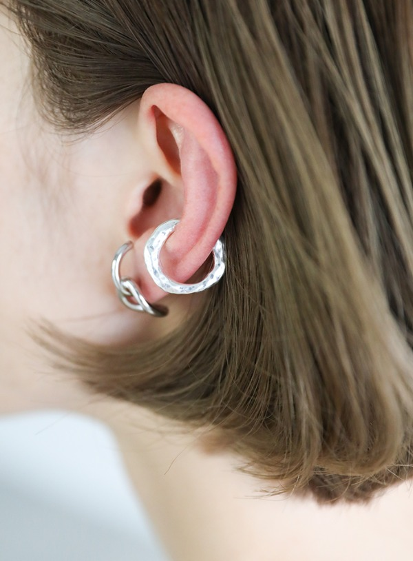distorted ear cuff【メール便不可】