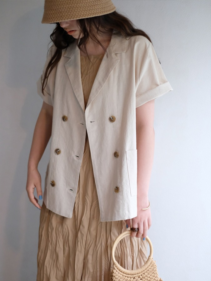 double button jacket[即納商品]