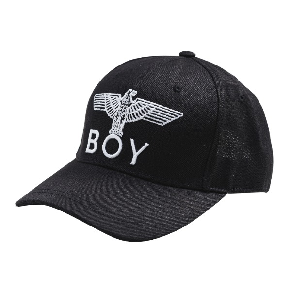 Eagle BOY Embroidery Heritage Ballcap  - BLACK