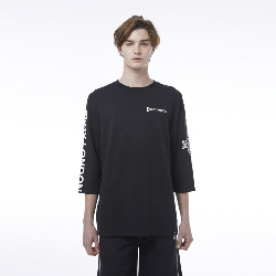 BOY Eagle Oversized T-Shirt - BLACK