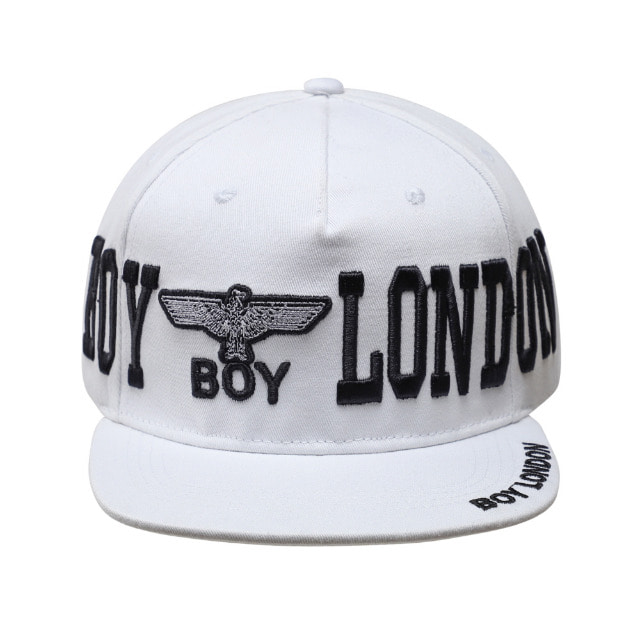 BOY LONDON Big Lettering Snapback - WHITE