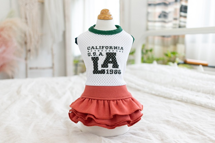 Cheerleader LA Skirt / Brick