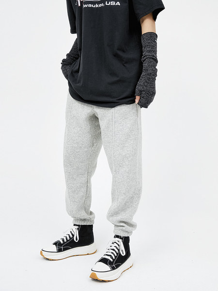 韓国ブランド「OPEN THE DOOR」のwool banding jogger pants (4 color) - men