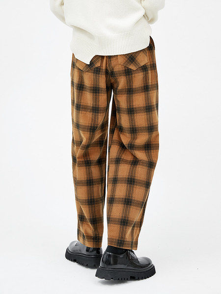 韓国ブランド「OPEN THE DOOR」のchess check pants (2 color) - woman