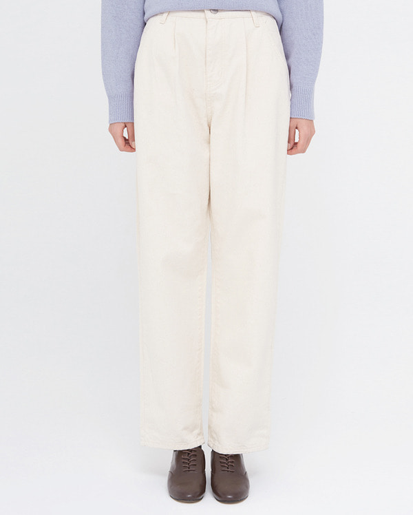 韓国ブランド「AIN」のgreat napping straight pants (s, m, l)