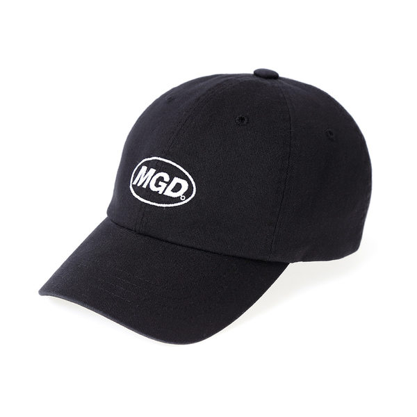 韓国ブランド「mahagrid」のMGD WASHED B.B CAP[BLACK]