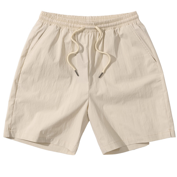 韓国ブランド「PRIMAUTER」のPM READY TO SUMMER ½ SHORTS (Ivory)