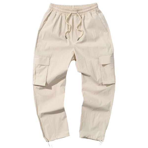 韓国ブランド「PRIMAUTER」のPM READY TO SUMMER STRING PANTS (Ivory)