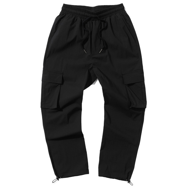 韓国ブランド「PRIMAUTER」のPM READY TO SUMMER STRING PANTS (Black)
