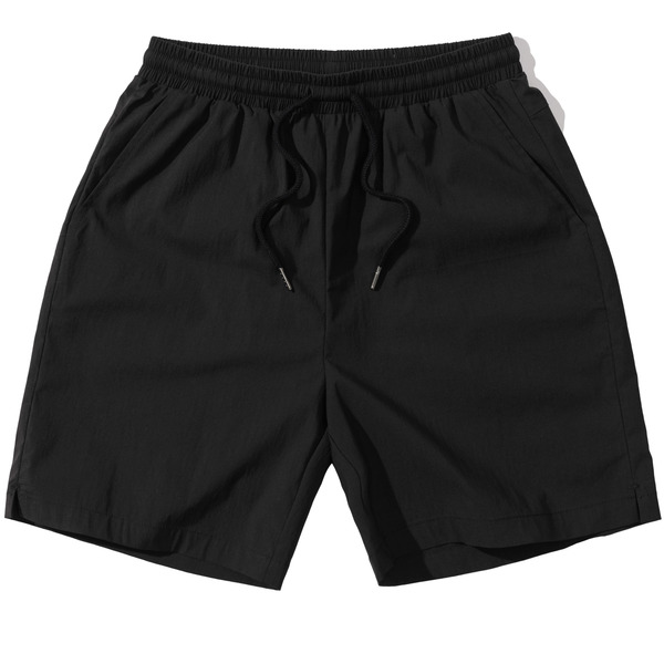 韓国ブランド「PRIMAUTER」のPM READY TO SUMMER ½ SHORTS (Black)
