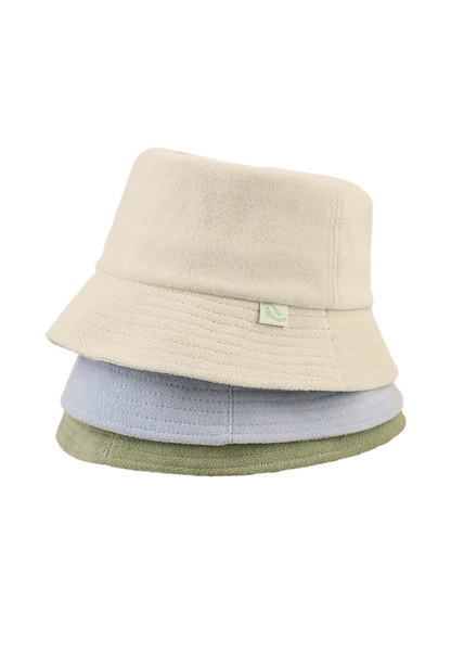 韓国ブランド「1991」のTERRY BUCKET HAT_4COLOR