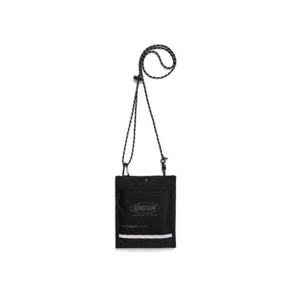 韓国ブランド「UNIONOBJET」の[UNIONOBJET] UNION SCOTCH MINI SACOCHE BAG BLACK