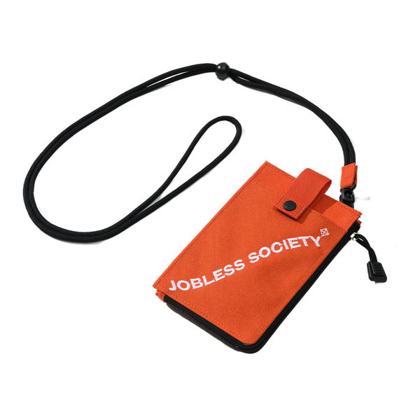 韓国ブランド「JOBLESS SOCIETY」のCORDURA SOCIETY MINI BAG (Orange)