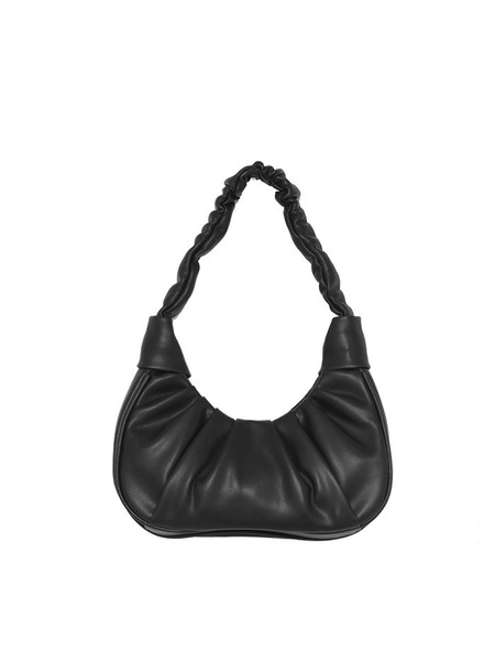 韓国ブランド「OPEN THE DOOR」のshirring half moon bag (2 color)