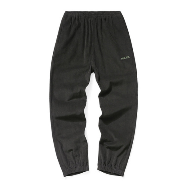韓国ブランド「mahagrid」のCORDUROY TRACK PANTS[BROWN]
