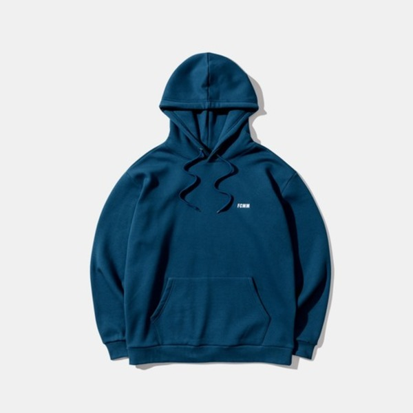 韓国ブランド「FCMM」のCLUB ESSENTIAL HOOD - DARK BLUE