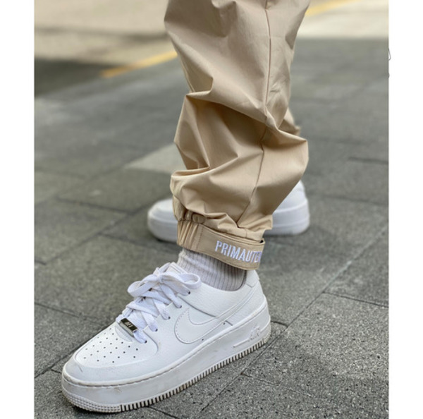 韓国ブランド「PRIMAUTER」のPM RESEARCH VELCRO PANTS (Ivory)