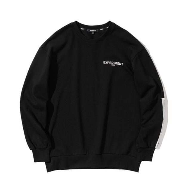 韓国ブランド「PRIMAUTER」のPM TAPING SWEATSHIRTS (Black)