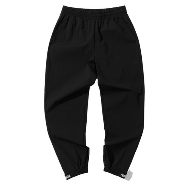 韓国ブランド「PRIMAUTER」のPM RESEARCH VELCRO PANTS (Black)
