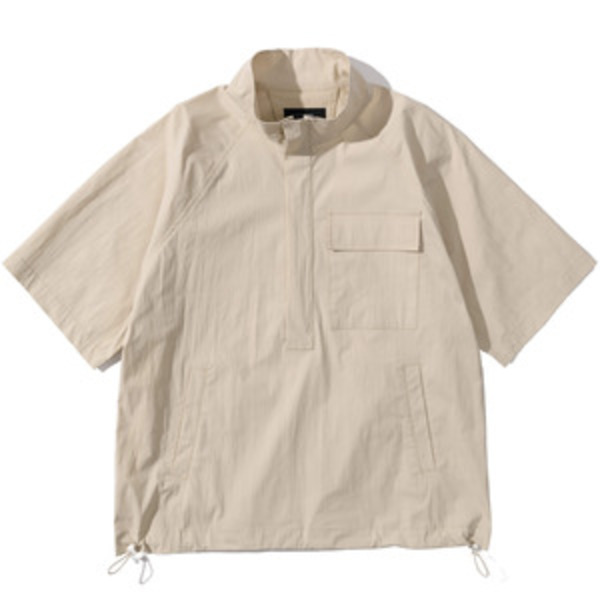 韓国ブランド「PRIMAUTER」のPM READY TO SUMMER ½ HALF ZIP (Ivory)