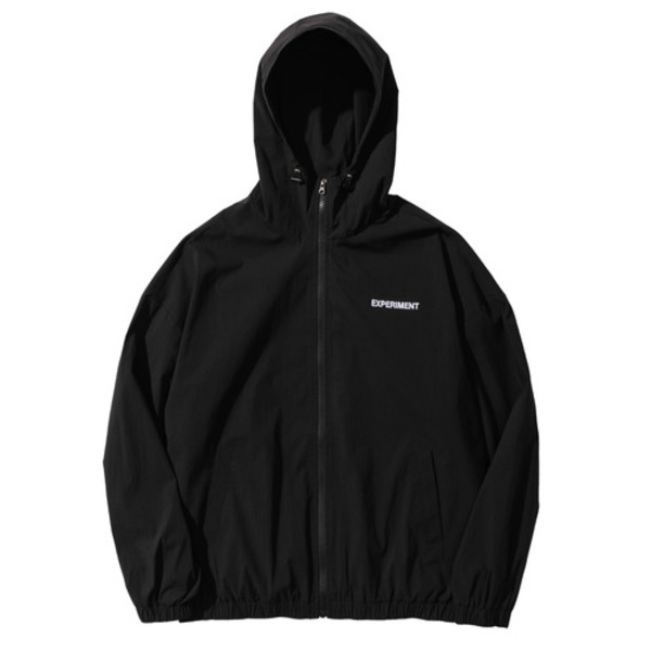 韓国ブランド「PRIMAUTER」のPM RESEARCH WINDBREAKER (Black)