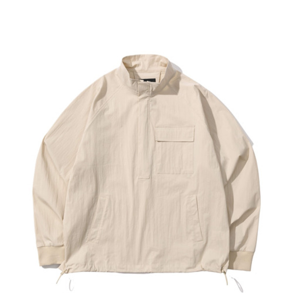 韓国ブランド「PRIMAUTER」のPM READY TO AUTUMN HALF ZIP (Ivory)
