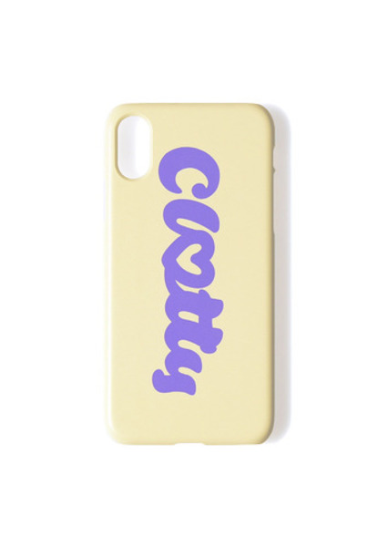 韓国ブランド「CLOTTY」のHEART CLOTTY HARD CASE[YELLOW]