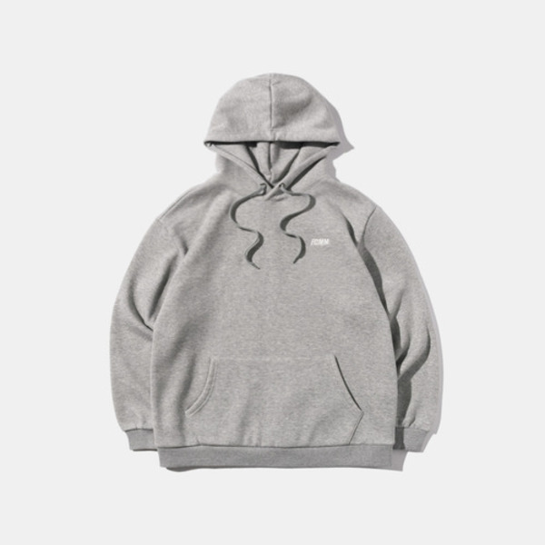 韓国ブランド「FCMM」のCLUB ESSENTIAL HOOD - GRAY