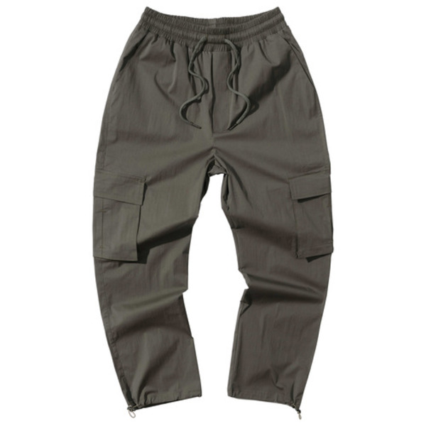 韓国ブランド「PRIMAUTER」のPM READY TO STRING PANTS (Khaki)