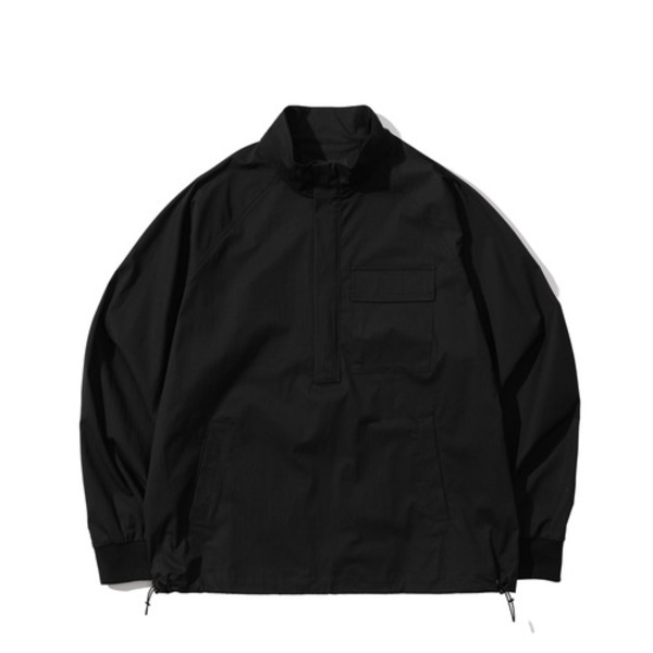 韓国ブランド「PRIMAUTER」のPM READY TO AUTUMN HALF ZIP (Black)