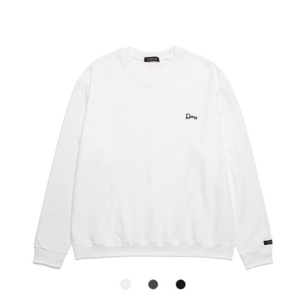 韓国ブランド「DXOH」のSIDE LOGO LONG SLEEVE 3COLOR