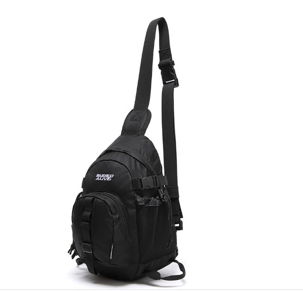 韓国ブランド「UNIONOBJET」の[BA X UNION] MESSENGER BAG BLACK