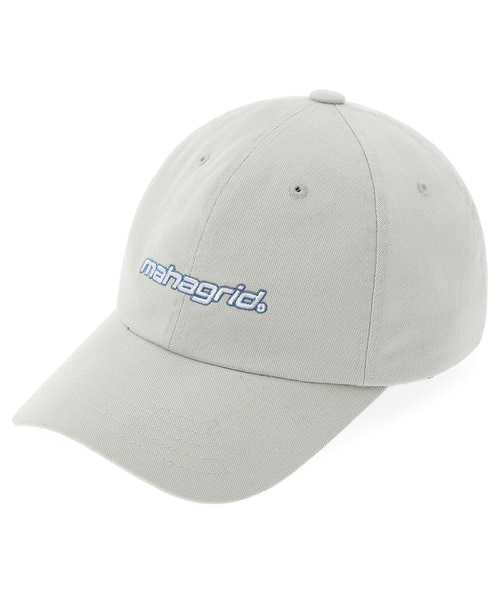 韓国ブランド「mahagrid」のMECHANIC LOGO BALL CAP[BEIGE]