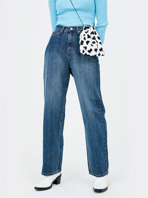 韓国ブランド「OPEN THE DOOR」のdart signature denim pants (4 color) - woman