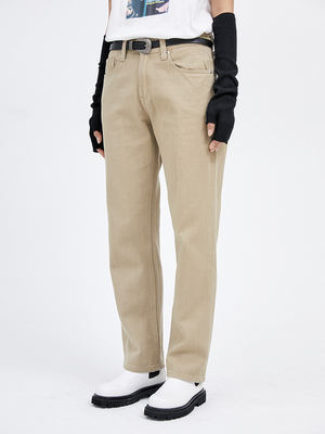 韓国ブランド「OPEN THE DOOR」のregular cotton pants (3 color) - men