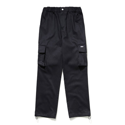 韓国ブランド「mahagrid」のJUNGLE CARGO PANTS[BLACK]