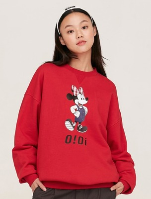 韓国ブランド「5252 by oioi」のSWEATSHIRTS / OVERALL MINNIE MOUSE_red