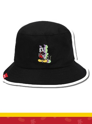 韓国ブランド「5252 by oioi」のBUCKET HAT / SHADOW MICKEY MOUSE_black