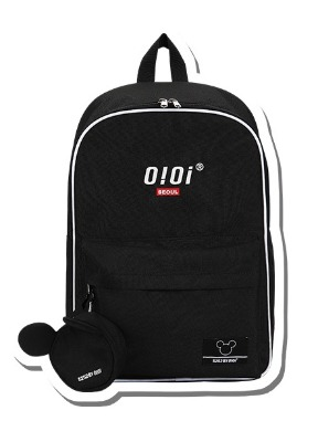 韓国ブランド「5252 by oioi」のKEYRING BACKPACK_black