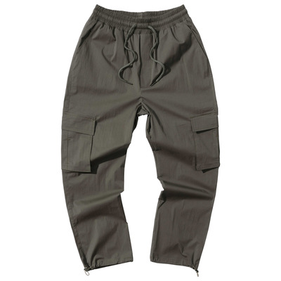 韓国ブランド「PRIMAUTER」のPM READY TO SUMMER STRING PANTS (Khaki)