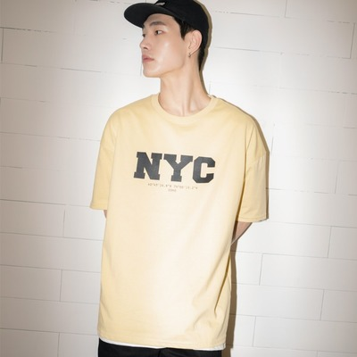 韓国ブランド「MYKIMI」のCITY OVER FIT T-SHIRTS : NEW YORK