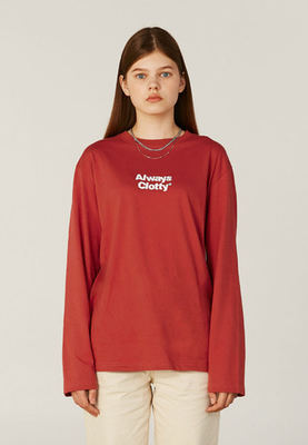 韓国ブランド「CLOTTY」のALWAYS CLOTTY LONG SLEEVE[PINK]
