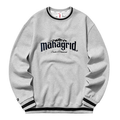 韓国ブランド「mahagrid」のMOUNTAIN SWEATSHIRT[GREY]